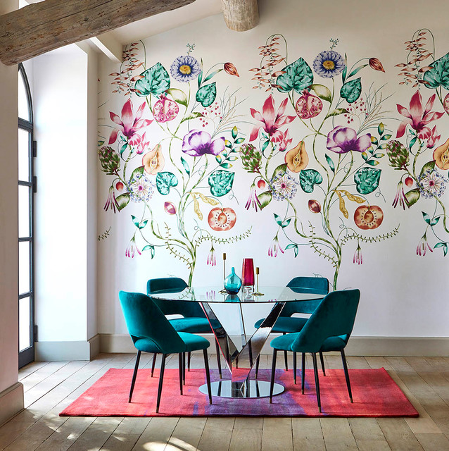 Photo by MANAS. See more eclectic dining room designs